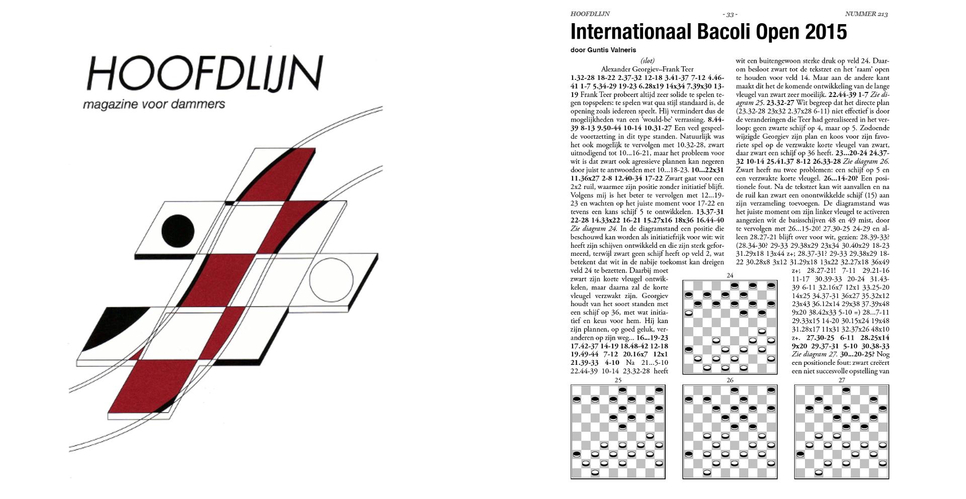 Internationale toernooien